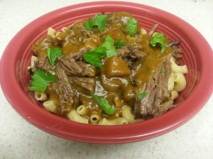 11 - short ribs over pasta