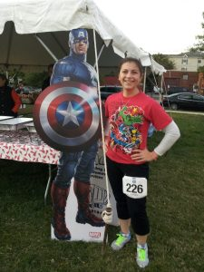 At the Race for a Cause 8k - October 2012.