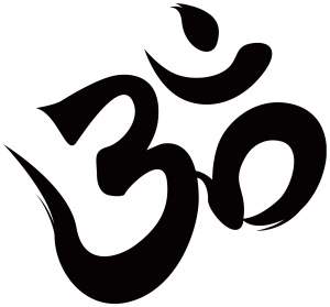 "The ""Om"" symbol represents the all-encompassing vibration of the cosmic universe. (Woah.)"